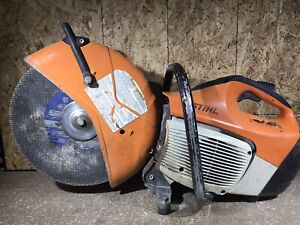 Stihl Ts420 Concrete Cut off 14 Saw Tested And Working read
