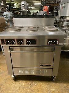 Garland 6 Burner Electric Range W Convection Oven