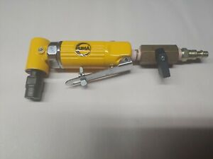 Puma At 7232 Pro Mini Angle Die Grinder 1 4 In Collet Size 18 000 Rpm 1 4 In
