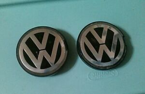 2 Caps Wheel Center Cap 58mm 93 99 Vw Jetta Golf Gti Mkt Genuine 6n0 601 171