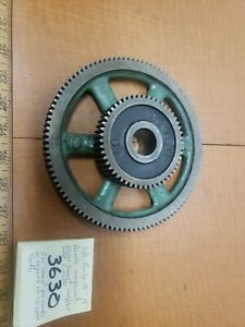 Southbend Lathe Early 15 16 Compound Idler Gear Banjo 104t 52t 1 125id 14dp