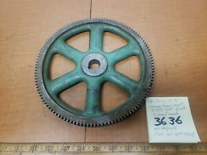 Southbend Lathe Early 15 16 Change Gear 120t 14dp 875id 81wd
