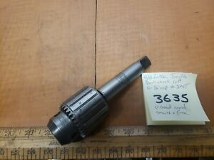 Southbend Lathe Jacobs Drill Chuck 6a 3mt 1 2 Cap