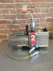 Edwards E2m2 Two Stage 1 3 Hp Single Phase Vacuum Pump Plus Convectron Guage Etc