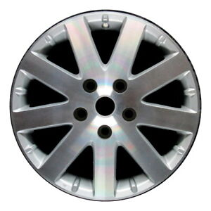 Wheel Rim Chrysler Town And Country 17 2008 2010 Factory Machined Silver Oe 2332