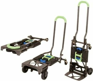 Convertible Hand Truck Dolly Cart Folding Wagon Upright Moving Equipment 3 In 1