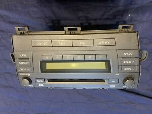 Toyota Prius Radio Head Unit 2010 2011