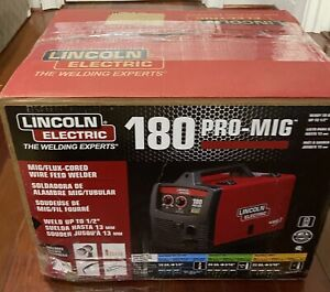 Brand New Lincoln Electric Pro Mig 180 Welder Never Been Used Free Shipping