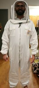 Bee Proof Heavy Duty Breathable Beekeeping Suit Medium Large W o Gloves W bag