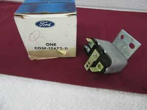 Nos 1960 1963 Ford Thunderbird Convertible Top Deck Unlock Relay 2 post Dp
