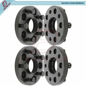 5x120 20mm For Cadillac Chevrolet Camaro Impala Equinox 4 Wheel Spacers 14x1 5