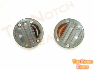 Military Cat Eye Rear Tail Light 4 Pair Willys Mb Ford Gpw Jeep Truck