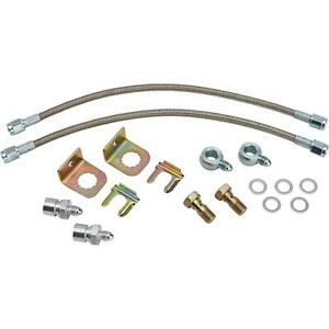 Stainless Steel Brake Hose Kit D52 Caliper With Banjo 12 Inch