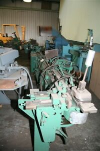 1 Pines 1 Rotary Hydraulic Bar Tube Pipe Bender Yoder 19259