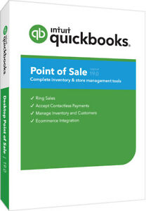 Intuit Quickbooks Point Of Sale V19 0 Multi store New User From Intuit Reseller