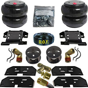 Air Tow Assist Load Level 2003 2013 Dodge Ram 3500 Truck With 2 Lift Spacers