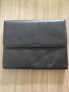 Franklin Covey Black Napa Leather Legal Folio Binder