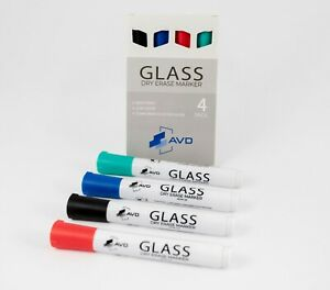 Audio visual Direct Glass Dry Erase Markers