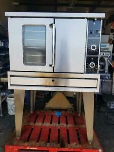 Garland Tg4 Single Deck Nat Gas Full Size Convection Oven Tested Live Pics