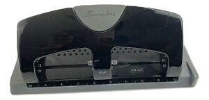 Swingline A7074133 Smarttouch Low Force 20 Sheet Punch Capacity 3 Hole Punch