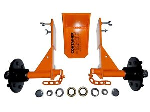 Shipping Container Wheels Jack Lug full Transport Kit Move 20 40ft Container