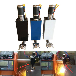 Plasma Flame Cutting Torch Holder Z Axis Lifter L100mm Dc24v For Cnc Machine