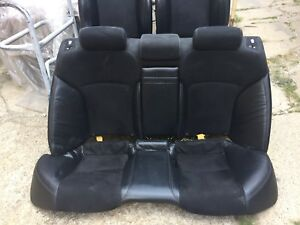 2011 Lexus Is250 F Type Sport Package Leather And Suede Like Seats Oem Set