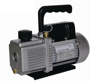 New 9 0 Cfm 9cfm Two 2 Stage 1hp Vacuum Pump Air Conditioner Refrigeration