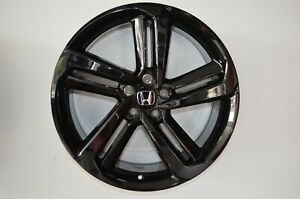 4 652 18 Inch Gloss Black Rims Fits Honda Civic Sedan 2012 2020