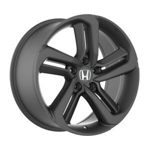4 652 18 Inch Matte Black Rims Fits Honda Civic Sedan 2012 2020