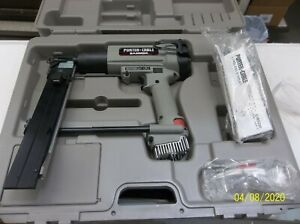 New Porter Cable Bammer Cms200 Cordless Gas Crown Stapler With Case