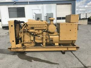 200 Kw Cat Generator Set Year 1984 12 Lead 240 480 Volts 3306 Engine Onl