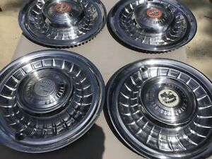 Cadillac 1958 And 1959 Hubcaps