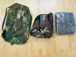 Military Chemical Bio Protective Suit Woodland Medium Ppe New