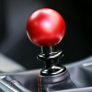 Ssco Matte Red Sr Lite 55mm 190 Grams Weighted Shift Knob Shifter Sphere
