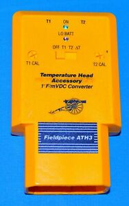 Fieldpiece Ath3 Dual Temperature Head For Meter Ranging Stick For Hvac R