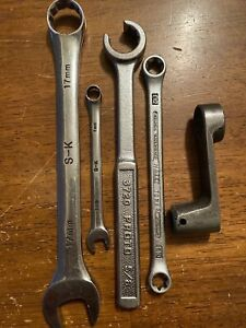 S K Tools Plus Proto Hazet 5pc Wrench Mis Set Usa