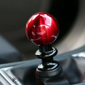 Ssco Candy Red Sr 55mm 190 Grams Weighted Shift Knob Shifter Sphere