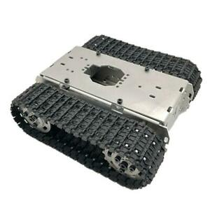 Smart Robot Tank Chassis Tracked Car Platform With Motor Diy Toy Parts