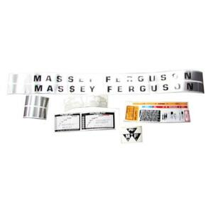 One New Decal Set Fits Massey Ferguson 135 1215 1043 1215 1043 a