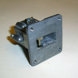 X band Cavity Oscillator Waveguide With Wr 90 Flange By C k Systems