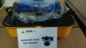 Adirpro 32x Optical Automatic Optical Level With Carry Case 714 32
