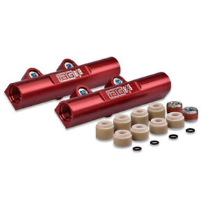 Iag V3 Top Feed Fuel Rails Red Anodized For 02 14 Wrx 07 Sti Afd 2102rd