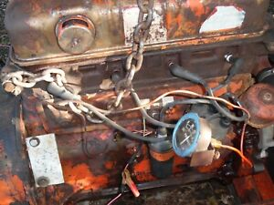 Ford 172 Gas Engine 800 4000 Tractor Chipper Power Unit Motor