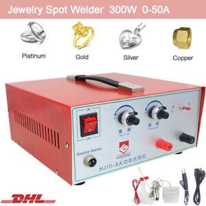 Portable Jewelry Sparkle Spot Welder Welding Machine For Gold Silver Platinum