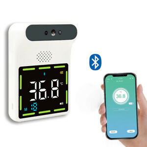 Wall Mounted Bluetooth Forehead Infrared Thermometer c f Temperature Meter Us
