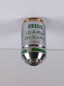 Zeiss Ld A plan 20x Ph1 Phase Contrast Infinity Microscope Objective