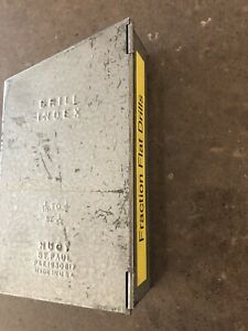 Huot Drill Index 1 16 To 1 2 By 1 64