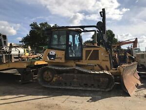2007 Caterpillar D6k Lgp Bulldozer Enclosed Cab A c