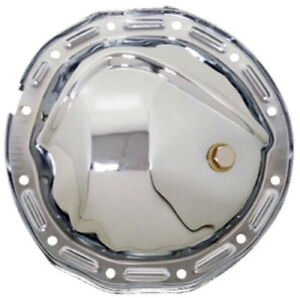 Gm 12 Bolt 8 875 Ring Gear Chrome Differential Cover With Plug Rear Rearend Lid